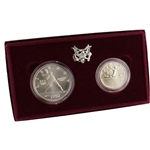 1992 US Olympic 2-Coin Commemorative BU Set