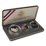 1991 US Mount Rushmore 3-Coin Commemorative Proof Set