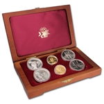 1984 US Olympic Games 6-Coin Commemorative Set