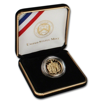 2011-W US Gold $5 Army Commemorative Proof