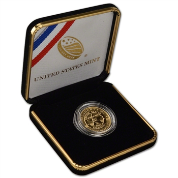 2015-W US Gold $5 Marshals Service 225th Anniversary Commemorative Proof