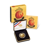 2020-W US Gold $5 Basketball Commemorative Proof in OGP
