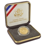1989-W US Gold $5 Congressional Commemorative BU in OGP