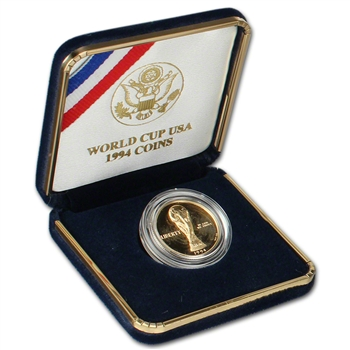 1994-W US Gold $5 World Cup Commemorative Proof