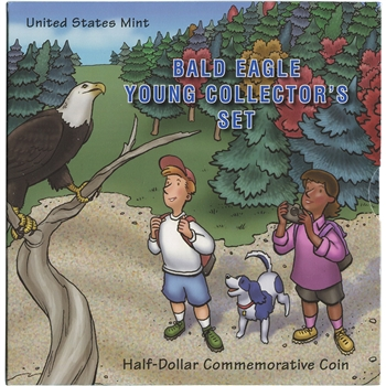 2008 US Commemorative Bald Eagle Half Dollar Young Collector's Edition