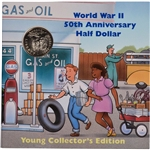 1993 US World War II Commemorative Half Dollar - Young Collector's Edition