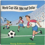 1994 US Commemorative World Cup USA 1994 Half Dollar Young Collector's Edition