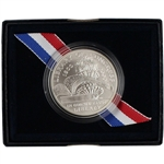 2000-P US Library of Congress Commemorative BU Silver Dollar