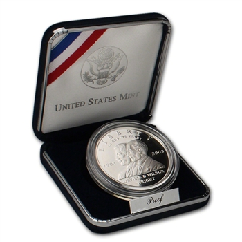 2003-P US First Flight Centennial Commemorative Proof Silver Dollar