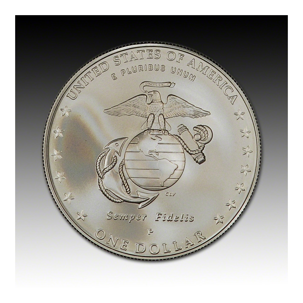 2005 US Marine Corps  Commemorative Coin and Stamp Set
