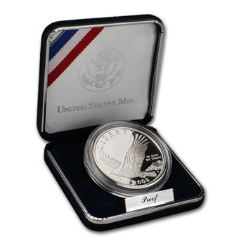 2008-P US Bald Eagle Commemorative Proof Silver Dollar
