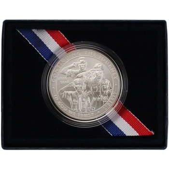 2010-P US Boy Scouts of America Centennial Commemorative BU Silver Dollar