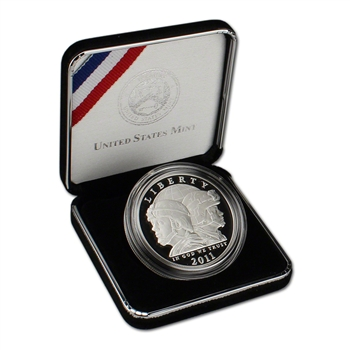 2011-S US Army Commemorative Proof Silver Dollar