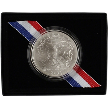 2011-S US Army Commemorative BU Silver Dollar