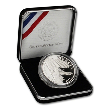 2012-P US Star-Spangled Banner Commemorative Proof Silver Dollar