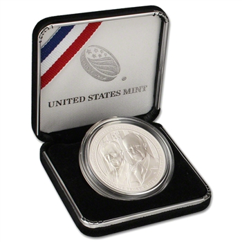 2013-W US 5-Star Generals Commemorative BU Silver Dollar