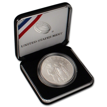 2014-P US Civil Rights Act of 1964 Commemorative BU Silver Dollar