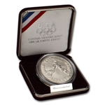 1988-D US Olympic Commemorative BU Silver Dollar