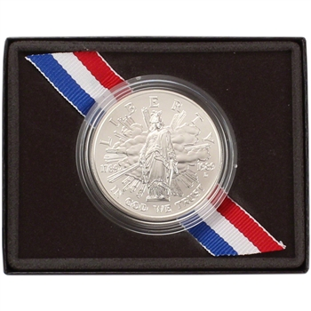1989-D US Congressional Commemorative BU Silver Dollar