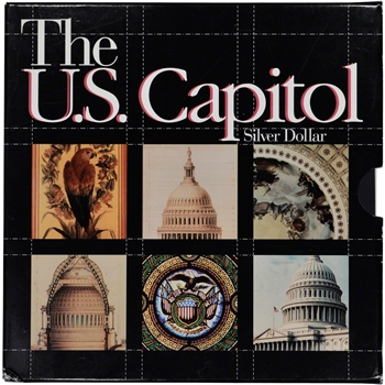 1994 US Bicentennial of the U.S. Capitol Commemorative Proof Silver Dollar