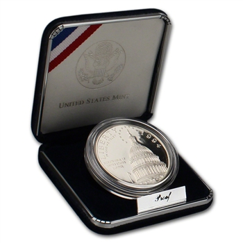 1994-S US Capitol Commemorative Proof Silver Dollar