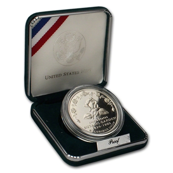 1997-P US Botanic Garden Commemorative Proof Silver Dollar