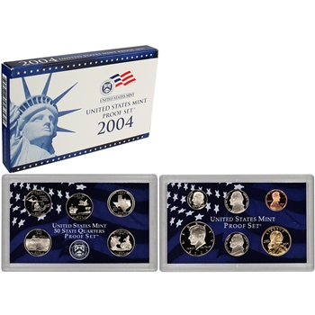 2004-S US Mint Proof Set