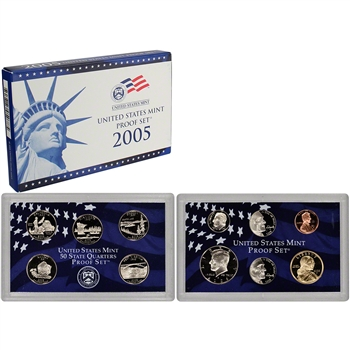 2005-S US Mint Proof Set