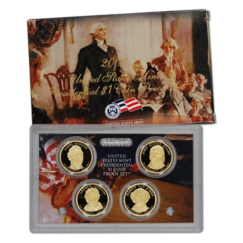 2008-S US Mint Presidential $1 Coin Proof Set