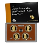 2011 US Mint Presidential $1 Coin Proof Set