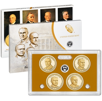 2014-S US Mint Presidential $1 Coin Proof Set (PE4)