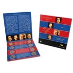 2012 US Mint Presidential $1 Coin Uncirculated Set