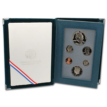 1990 US Mint Prestige Proof Set