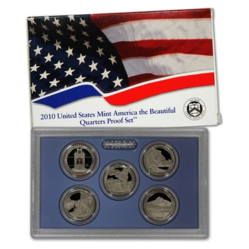 2010-S US Mint Quarters Proof Set