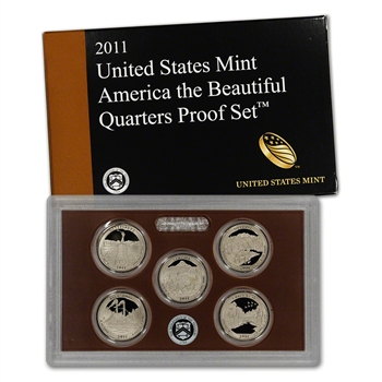 2011-S US Mint Quarters Proof Set