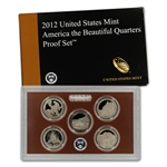 2012-S US Mint Quarters Proof Set