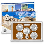 2013-S US Mint America the Beautiful Quarters Proof Set (Q5D)