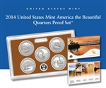 2014 United States Mint America the Beautiful Quarters Proof Set? (Q5E)