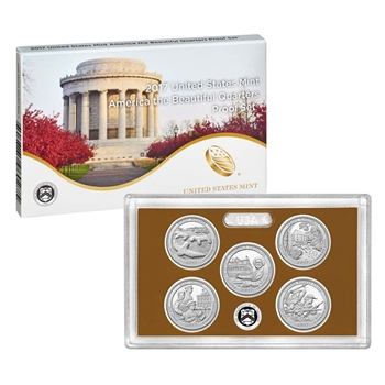 2017 United States Mint America the Beautiful Quarters Proof Set? (17AP)