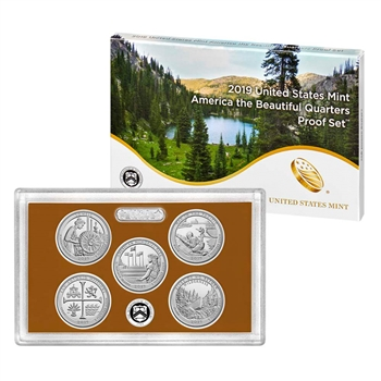 2019 United States Mint America the Beautiful Quarters Proof Set (19AP)