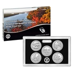 2017 United States Mint America the Beautiful Quarters Silver Proof Set (17AQ)