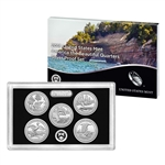 2018 United States Mint America the Beautiful Quarters Silver Proof Set (18AQ)