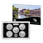 2019 United States Mint America the Beautiful Quarters Silver Proof Set (19AQ)
