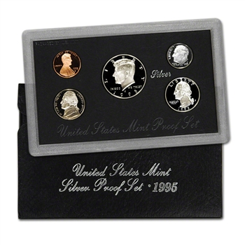 1995-S US Mint Silver Proof Set