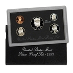1997-S US Mint Silver Proof Set
