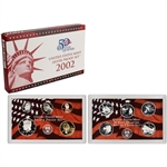 2002-S US Mint Silver Proof Set