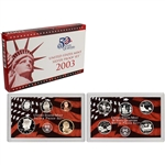 2003-S US Mint Silver Proof Set