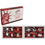 2005-S US Mint Silver Proof Set