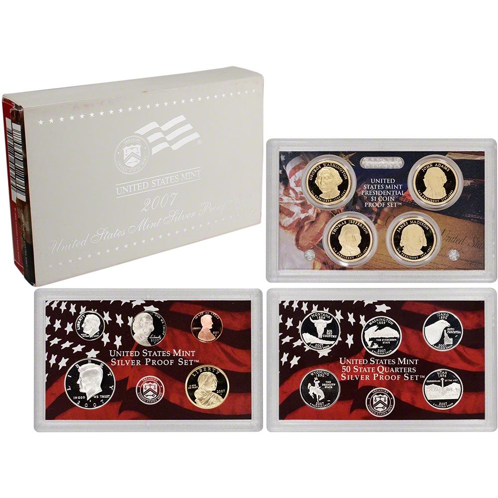 2007 US Mint Silver Proof Set