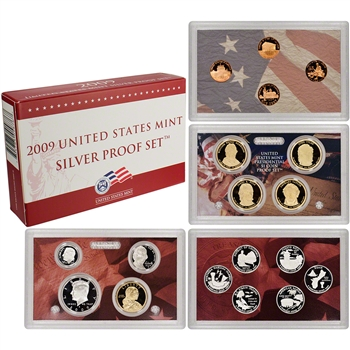 2009-S US Mint Silver Proof Set